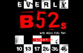 B52s electric guitar strings