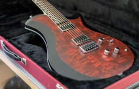 Relish MARY ONE - Black front/rear with Bordeaux Quilted Maple inlay
