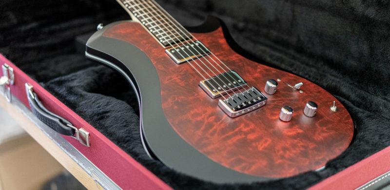 Mary One Bordeaux Quilted Maple