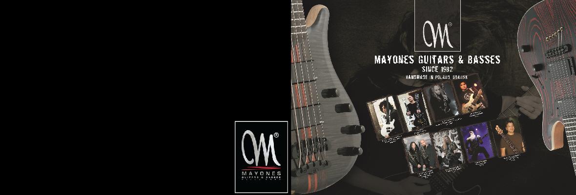 Mayones Guitars and Basses